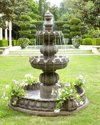 """Three-Tier """"Castle"""" Fountain"""