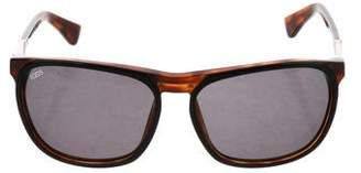 Tod's Logo Tinted Sunglasses