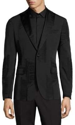 Versace Frame Print Jacket