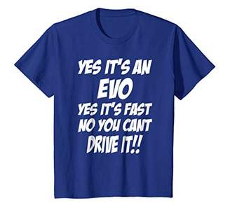 evo Shirt Yes It's An Yes It's Fast Funny