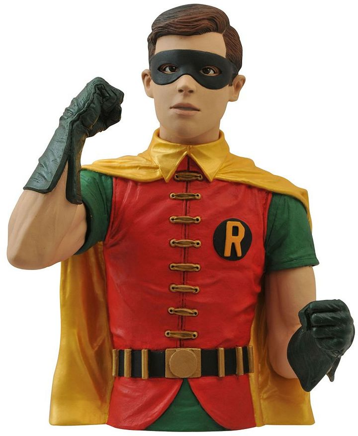 Diamond select toys Batman 1966 Robin Bust Bank by Diamond Select Toys