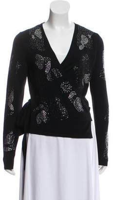 Diane von Furstenberg Merino Wool Embellished Sweater