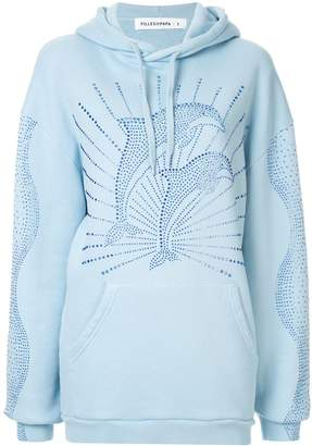 Filles a papa rhinestone dolphin hoodie