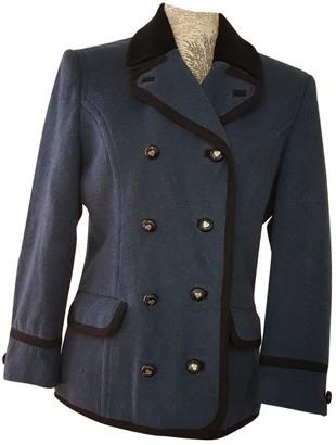Rena Lange Blue Wool Jacket for Women