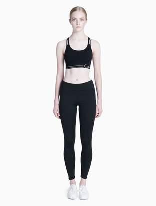 Calvin Klein piped sports bra