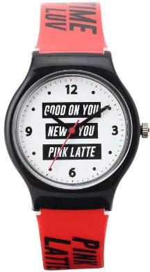 PINK-latte (ピンク ラテ) - PINK-latte 三段ロゴウォッチ
