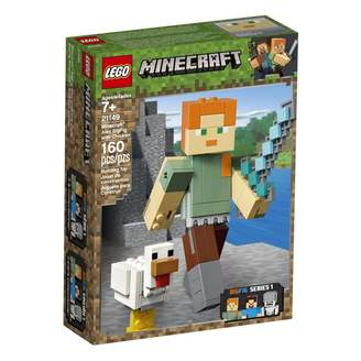 Lego Minecraft Buildable Action Figure Alex BigFig with Chicken 21149