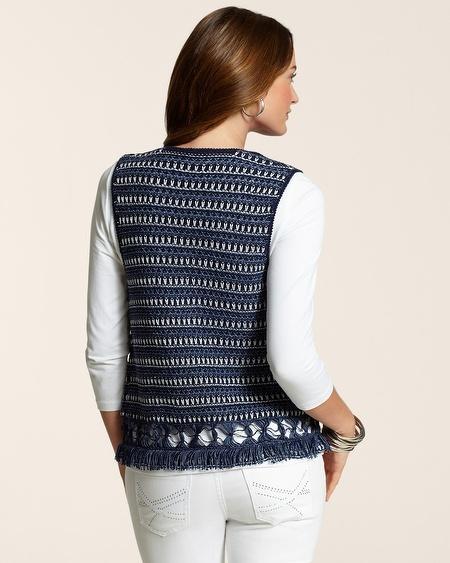 Chico's Cropped Vicki Vest