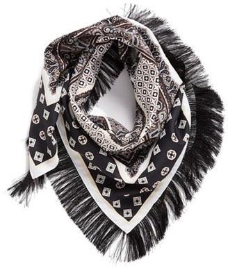 Women's Collection Xiix Paisley Foulard Bandana $28 thestylecure.com