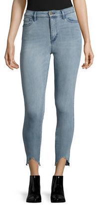 Buffalo David Bitton Light Wash High-Waist Skinny Jeans $89 thestylecure.com