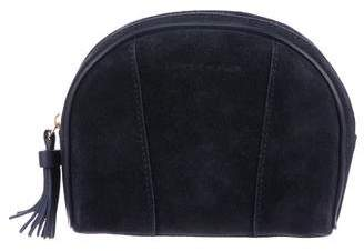 Longchamp Suede Cosmetic Bag