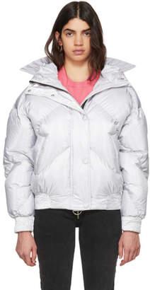 Dunlop Ienki Ienki Silver Down Puffer Jacket
