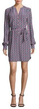 Trina Turk Keiki Iolani Silk Floral-Print Dress $328 thestylecure.com