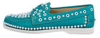 Christian Louboutin Stud Slip-On Sneakers w/ Tags