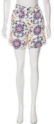 Giada Forte Collection by Printed Tailored Mini Shorts w/ Tags
