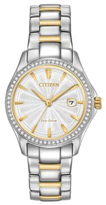 Citizen Women's Two-Tone Bracelet Watch, 30mm
