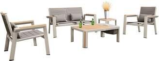 Indo Soul Indosoul Outdoor Settings Geneva 5-Piece Outdoor Lounge Set