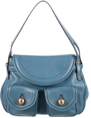Marc JacobsMarc Jacobs Blue Leather Shoulder Bag