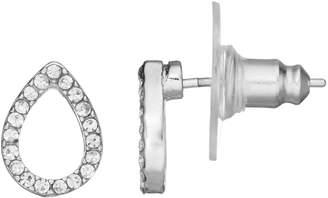 Lauren Conrad Open Teardrop Earrings