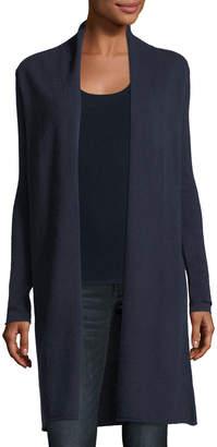 Neiman Marcus Classic Cashmere Duster Cardigan