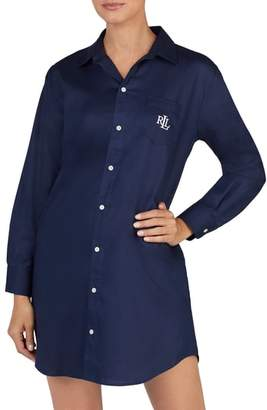 Lauren Ralph Lauren Cotton Sleep Shirt