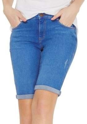 Dorothy Perkins Bright Blue Knee Shorts