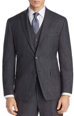 Michael Kors Tonal Large Plaid Classic Fit Suit Jacket