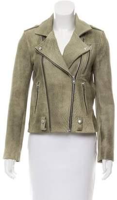 IRO Jovaspe Distressed Leather Jacket