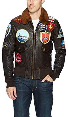 Top Gun Cockpit USA Men's Movie Hero Bomber Jacket