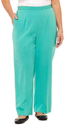 Alfred Dunner Montego Bay Twill Pant- Plus