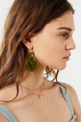 Urban Outfitters Geo Resin Drop Earring