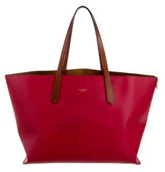 Givenchy Leather Tote Bag Red Leather Tote Bag