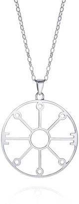 Hendrikka Waage Large Prayer Symbol Sterling Silver Necklace
