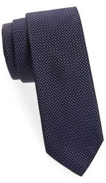 BOSS Square Dot Silk Tie