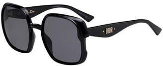 Christian Dior Nuance Square Plastic Sunglasses
