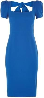 Rebecca Vallance Poppy Bow Midi Dress