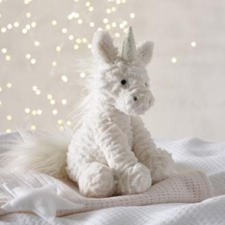 The White Company Jellycat Fuddlewuddle Unicorn Medium Toy , White, One Size