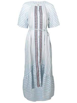 Lemlem Nefasi Maxi Shirt Dress