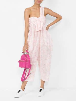 Marysia Swim Venice jumpsuit in swimmer print cloud pink