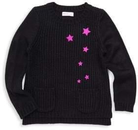 Design History Little Girl's Star Pullover Sweater