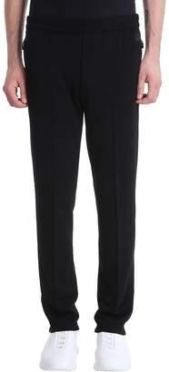 Ermenegildo Zegna Black Wool Merino Pants