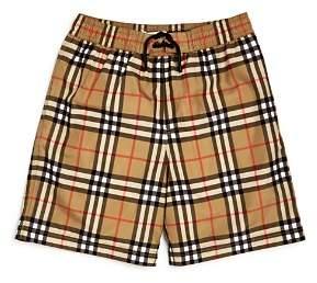 Burberry Boys' Galvin Check Swimsuit - Little Kid, Big Kid
