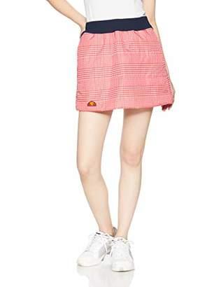Ellesse (エレッセ) - [エレッセ] テニスウェア インサレーションスカート EW28310 [レディース] ホワイト×レッドチェック (WR) 日本 M (日本サイズM相当)
