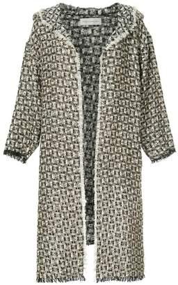 Faith Connexion asymmetric hooded jacket