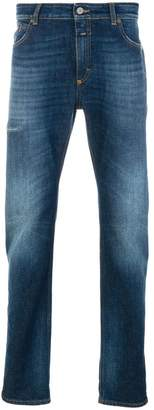 Closed washed jeans with turn up cuffs