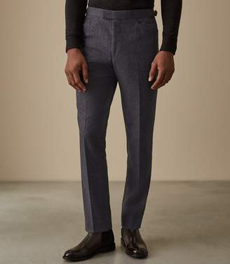 Reiss HUTTON SLIM FIT TROUSERS Airforce Blue