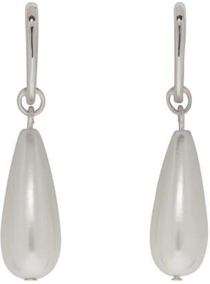 Sophie Buhai Silver Pearl Teardrop Earrings