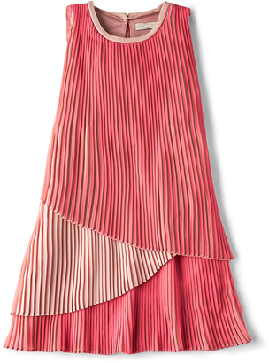 Stella McCartney Sasha Girls Layered Dress $147 thestylecure.com