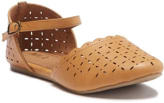 Mia Malia Ankle Strap Flats (Little Kid & Big Kid)