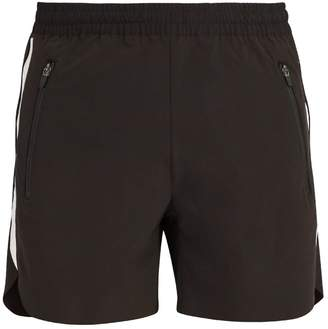 BLACKBARRETT by NEIL BARRETT Graphic-print water-repellent shorts